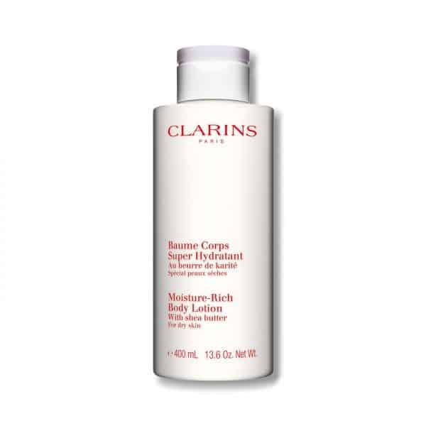 Clarins Crema Corpo Super Idratante MAXI FORMATO Clarins Leviga, nutre e rassoda la pelle.