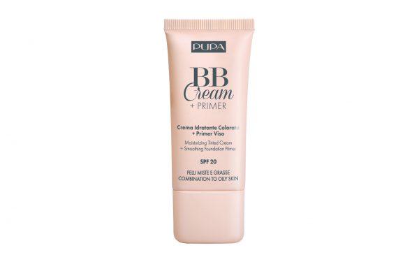 Pupa BB Cream + Primer Pelli Miste e Grasse Pupa Crema Idratante Colorata + Primer Viso. Pelli Miste e Grasse.