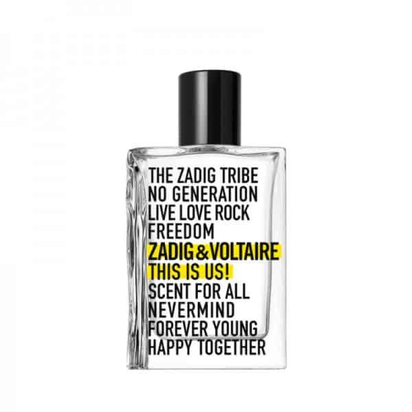 Zadig E Voltaire This Is Us Eau De Toilette Zadig & Voltaire <strong>This is Love! Pour Elle La nuova Eau de Parfum femminile di Zadig&Voltaire.</strong>