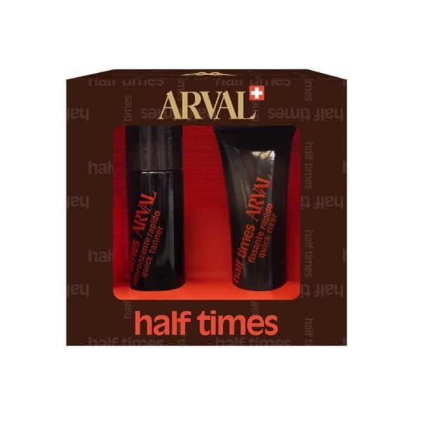 Arval Half Times Spf 6 Abbronzatura Rapida 1fl. + 1tb. Arval <h5>Half Times SPF 6 abbronzatura rapida 1 fl. + 1 tb. 10 ml</h5>