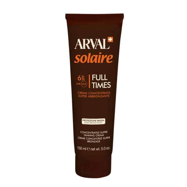 Arval Solaire Full Times Crema Superabbronzante Spf 6 Arval <h4>Crema concentrata super abbronzante tb. 150 ml.</h4>
