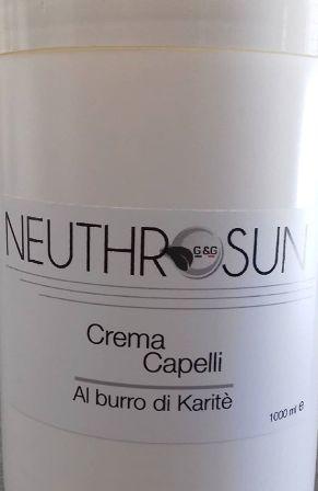 Neuthrosun Crema Capelli Burro di Karitè 1kg Neutrosan Curly Rock definitore di ricci Neutrosan 100 ml
