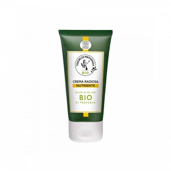 Tesori Di Provenza Crema Radiosa Nutriente Tesori di Provenza Un balsamo prezioso per rigenerare la pelle del viso e distendere i segni dell'età.