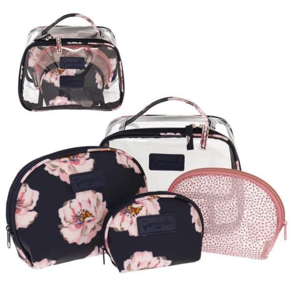 Camomilla Peony Set Beauty Bag Rosa S Camomilla