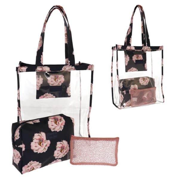 Camomilla Peony Set Bag & Beauty Rosa Camomilla