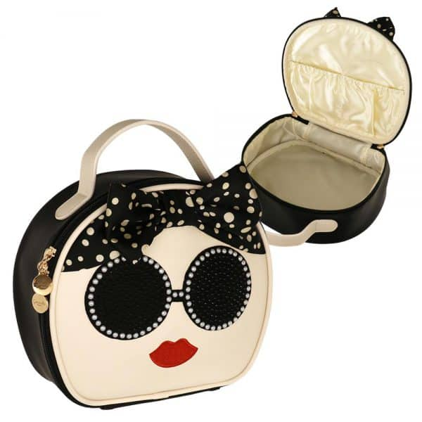 Camomilla Beauty Cadiz Vanity Bag Beige Camomilla