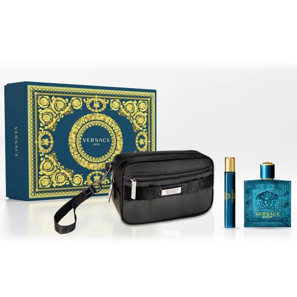 Versace Eros Edt + Mini Taglia + Beauty Gianni Versace