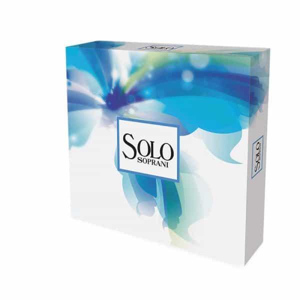 Solo soprani bianco 100ml edt + shower gel Soprani Solo soprani blu edt