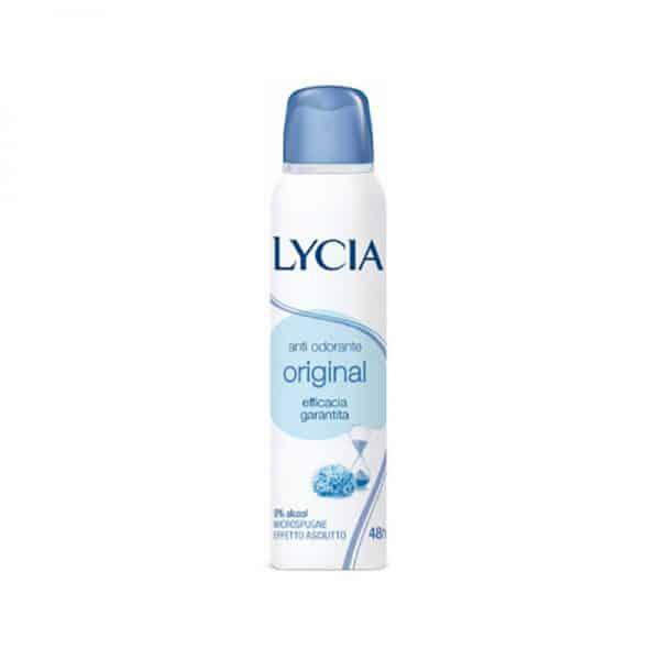 Lycia deo spray 150ml Lycia Lycia quadrotti in cotone strucco