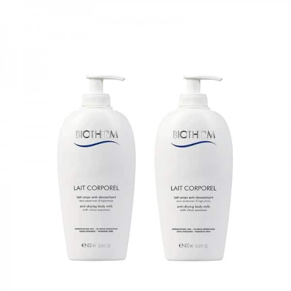 Biotherm Lait Corporel Promo 2 Pezzi da 400ml cad. Biotherm OFFERTA SPECIALE! 2 pezzi Biotherm lait corporel - l'original 400ml a soli € 29,90. Disponibilità limitata!
