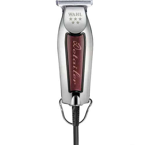 """Wahl Trimmer T-Wide Detailer Wahl <span class=""""value""""><strong>SuperTaper®</strong> Motore ad elevate prestazioni <strong>V5000</strong>. Tagliacapelli professionale a rete. </span>"""