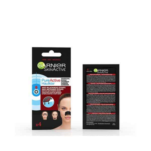 Garnier Pure Active Carbone Strip Zona-T Anti Punti Neri Garnier ANTI-PUNTI NERI- Pelli Grasse e Punti Neri Ostinati