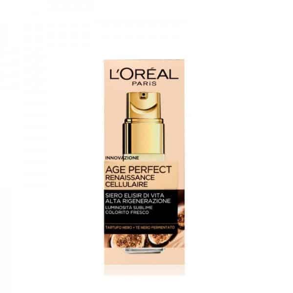 L'Oreal Age Perfect Renaissance Cellulaire Siero Elisir di Vita L'Oreal Crema viso-Olio nutriente pelli secche e sensibili giorno.