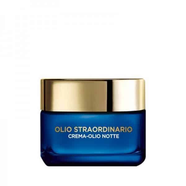 L'Oreal Olio Straordinario Crema Maschera Nutritiva Notte Oli Essenziali e Pappa Reale L'Oreal Crema viso-Olio nutriente pelli secche e sensibili giorno.