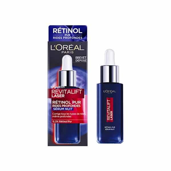 L'Oreal Revitalift Laser Retinolo Puro Siero Notte L'Oreal Crema viso-Olio nutriente pelli secche e sensibili giorno.