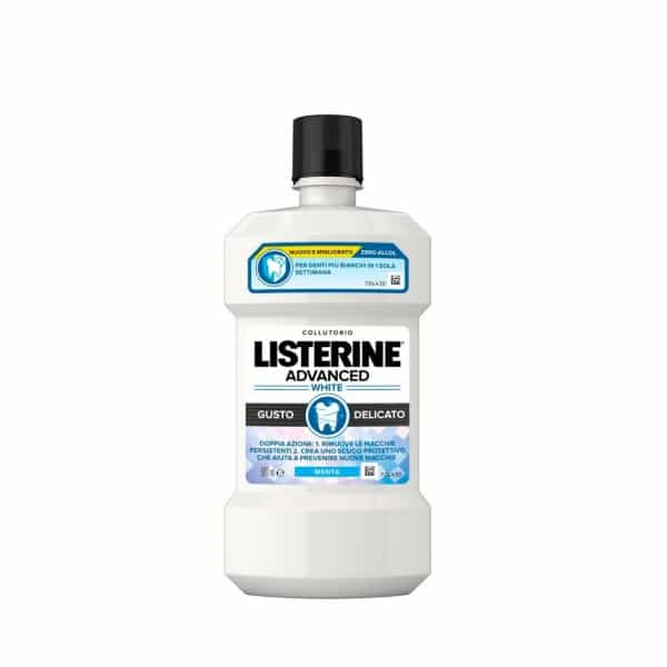 Listerine Colluttorio Advanced White Listerine