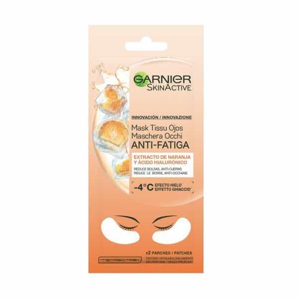Garnier Maschera in Tessuto Anti Fatica Occhi Garnier Con Succo d'Arancia e Acido Ialuronico