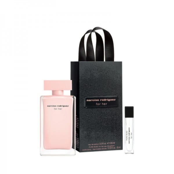 Narciso Rodriguez For Her Edp 100ml + 10 ml Narciso Rodriguez Narciso Rodriguez eau de parfum 100 ml + 10 ml eau de parfum.
