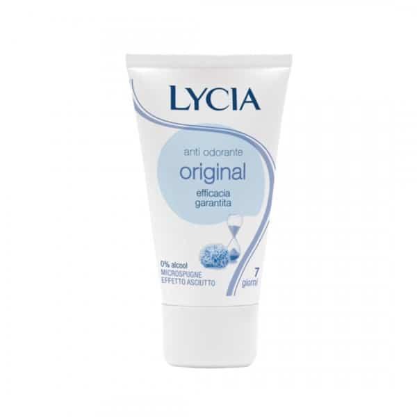 Lycia Deodorante Crema Original Lycia Lycia dischetti in cotone strucco