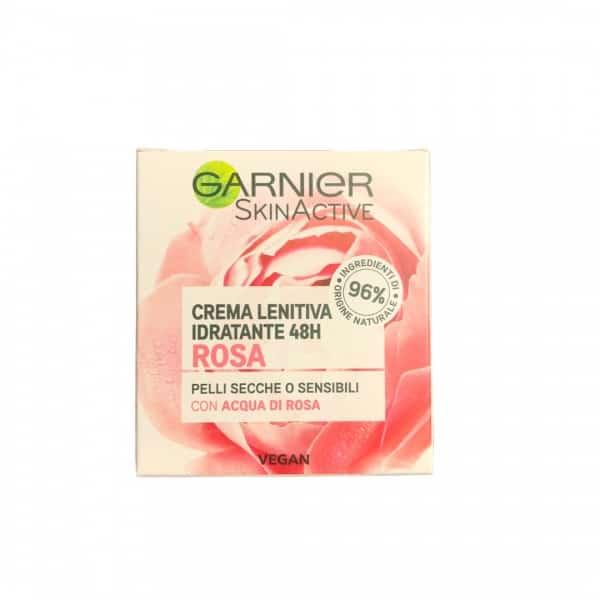Garnier Skin Active Crema Idratante Acqua di Rosa Garnier Questa crema è la nostra nuova generazioni di idratanti con 96% di ingredienti di origine naturale.
