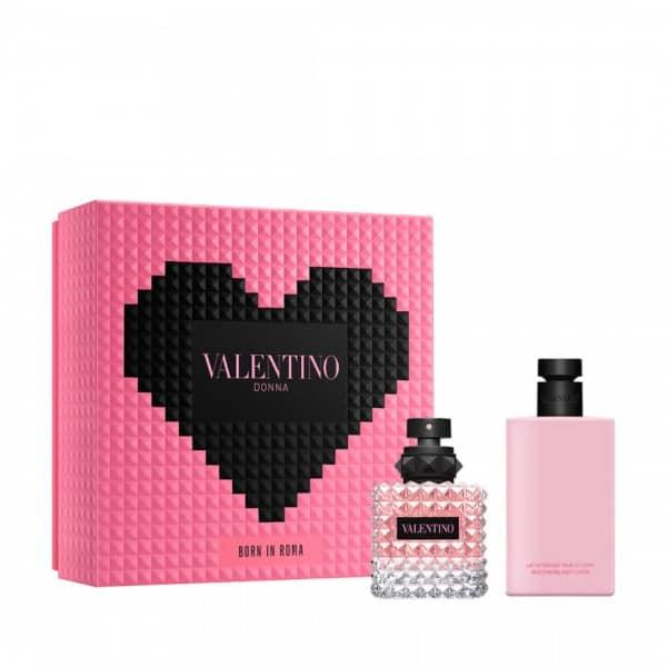 Valentino Born In Roma Eau De Parfum + Latte Idratante Valentino Valentino donna born in roma edp