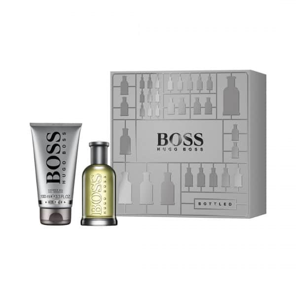 Boss Confezione Boss Bottled Edt + Shower Gel Hugo Boss La confezione comprende Bottled Eau de Toilette da 50 ml e il Gel Doccia da 100 ml.