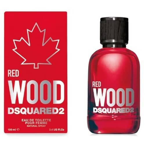 Dsquared Wood Red Eau De Toilette Dsquared dsquared wood donna red edt