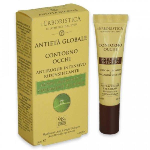 Athena's L'Erboristica Anti Età Globale Contorno Occhi Acido Ialuronico 15 ml Athena's athena's contotno occhi acido ialuronico 15 ml