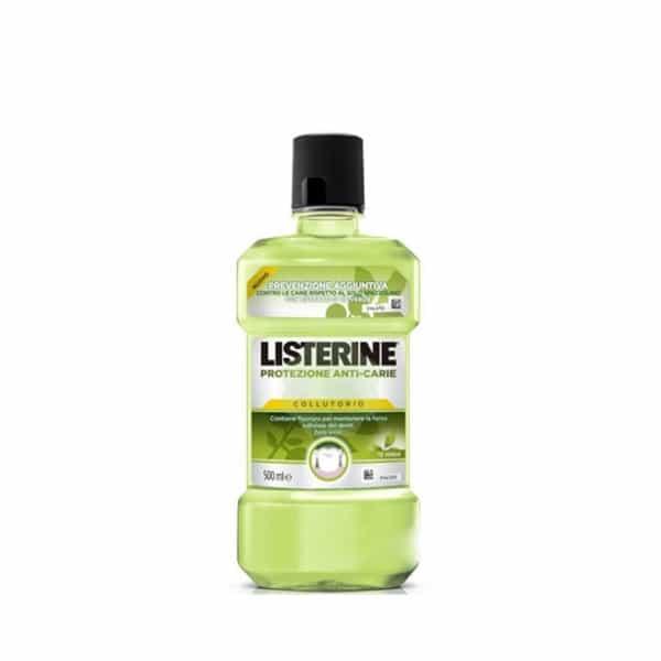 Listerine Colluttorio Protezione Anti-Carie 500 ml Listerine
