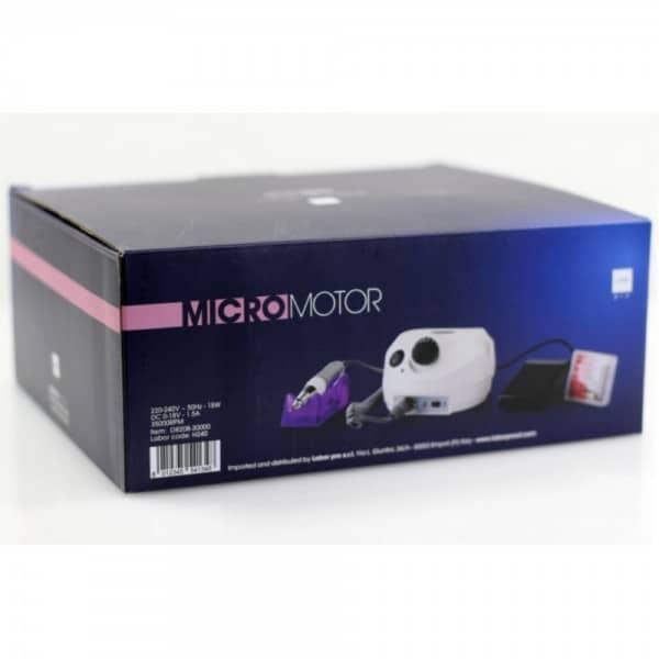 Labor Pro Micromotore Professionale Micro Motor H240 Per Unghie Labor Pro Asciugacapelli professionale<strong> ZERO HD 1800 watt</strong> effettivi di potenza 2 velocità di uscita dell'aria 3 calorie colpo d'aria fredda