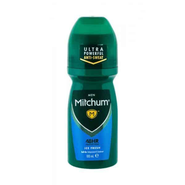 Mitchum Men Deodorante Roll-On 100ml Uomo Mitchum Deodorante Roll-On 48h Donna