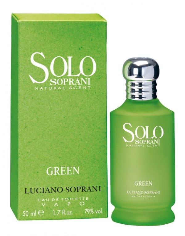 Solo soprani verde edt Soprani Solo soprani blu edt