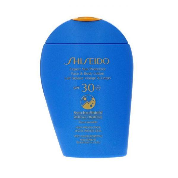 """Shiseido Expert Sun Protection Lozione 50+ 150ml Shiseido <h5><span class=""""shortDescPart1"""">Una lozione solare altamente efficace e invisibile sulla pelle SPF 50 100 ml.</span></h5>"""