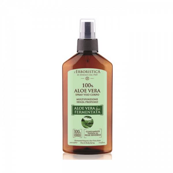 Athena's L'Erboristica 100% Aloe Vera Bio Spray Viso E Corpo Athena's athena's contotno occhi acido ialuronico 15 ml