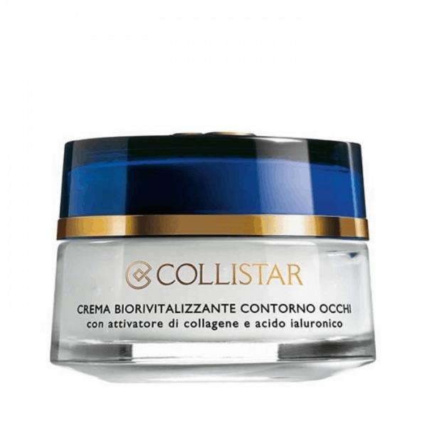Collistar Crema Biorivitalizzante Contorno Occhi 15ml Collistar Con attivatore di collagene e acido ialuronico.