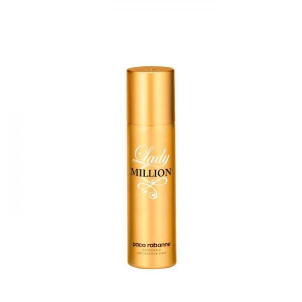 Paco Rabanne Lady Million Deodorante 150 Ml Paco Rabanne <p>La confezione contiene: 1 Million Edt 100ml + Shower Gel 100ml</p>