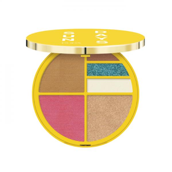 Pupa Sun Days Palette Viso E Occhi Waterproof Pupa