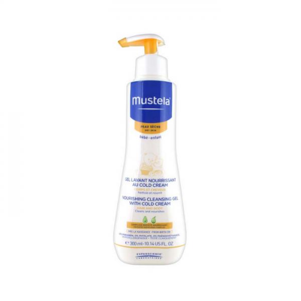 Mustela Detergente Nutriente Alla Cold Cream 300 Ml Mustela