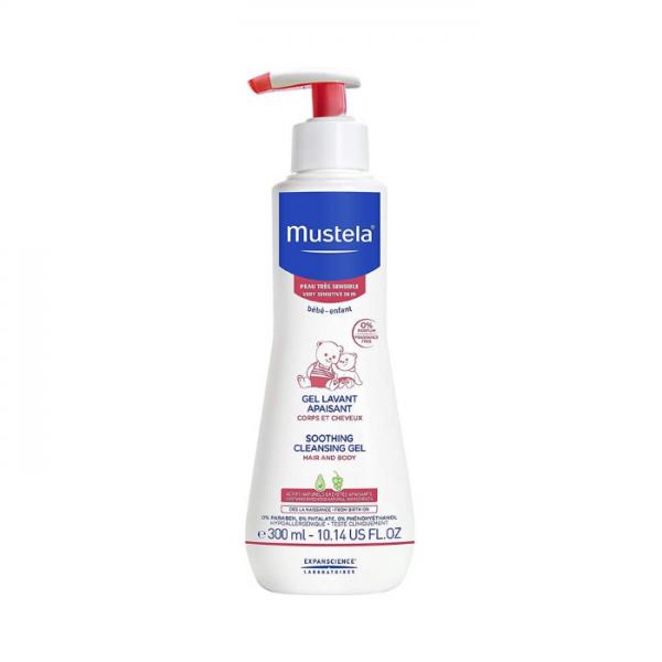 Mustela Gel Detergente Lenitivo 300 Ml Mustela