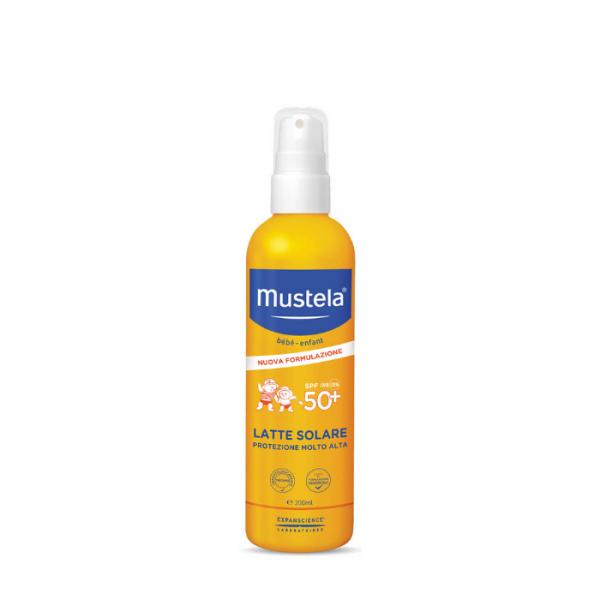 Mustela Spray Solare Spf 50+ 200 Ml Mustela