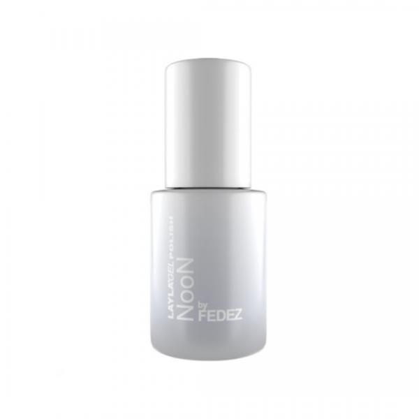 Layla Noon By Fedez Gel Polish Faded-Bianco 10 ML Compatibile con la maggior parte delle matite per occhi, sopracciglia e labbra.